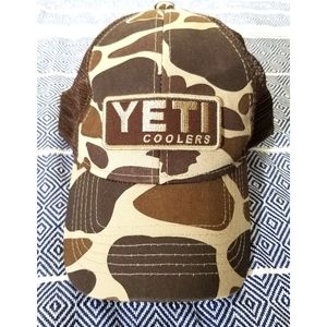 Discontinued Yeti Camo Trucker Hat